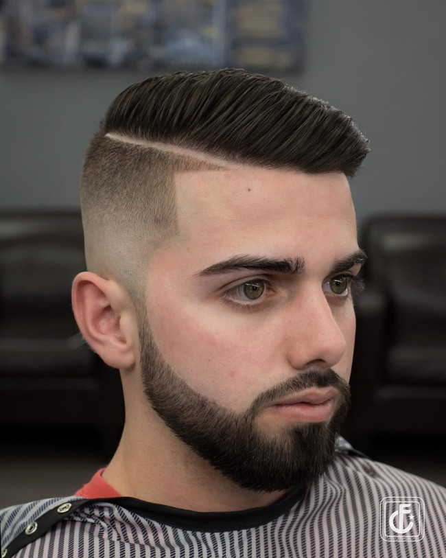Disconnected Comb Over + Side Part - Men's Haircuts