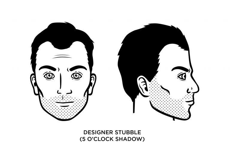 The 5 o'clock shadow (or Designer Stubble) - Men's Haircuts