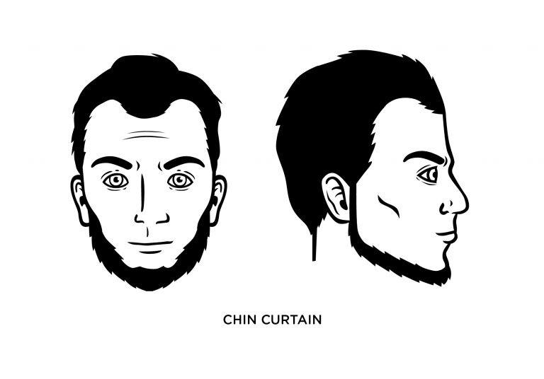 The Chin Curtain - Men's Haircuts