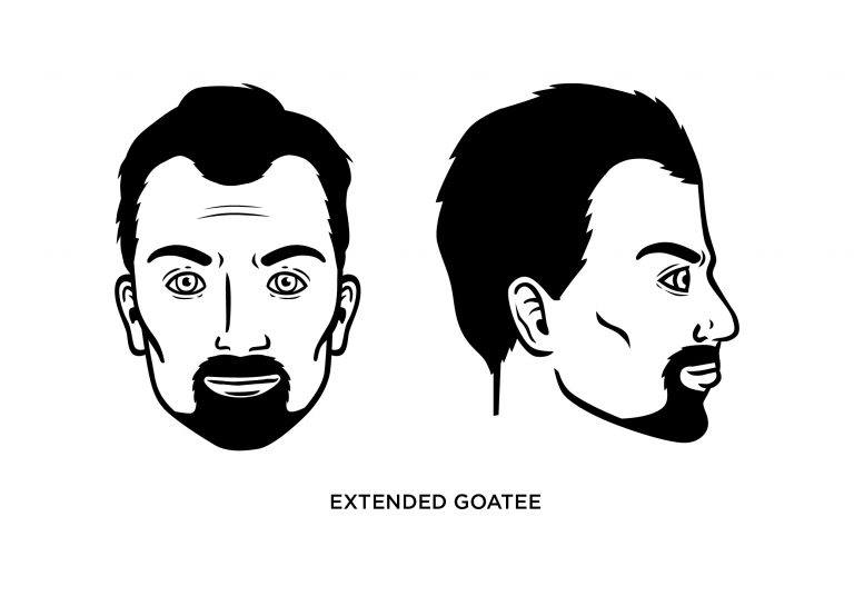 The Extended Goatee - Men's Haircuts