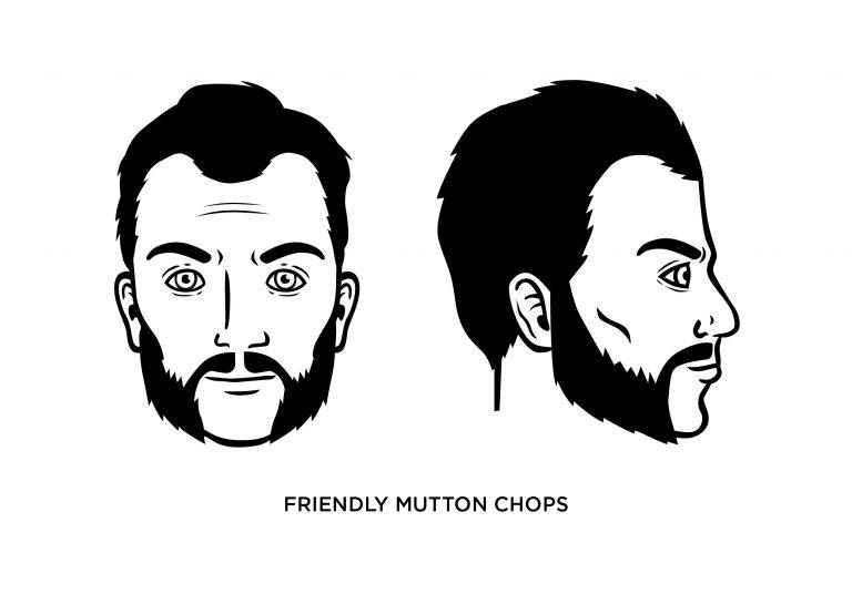The Friendly Mutton Chops - Men's Haircuts