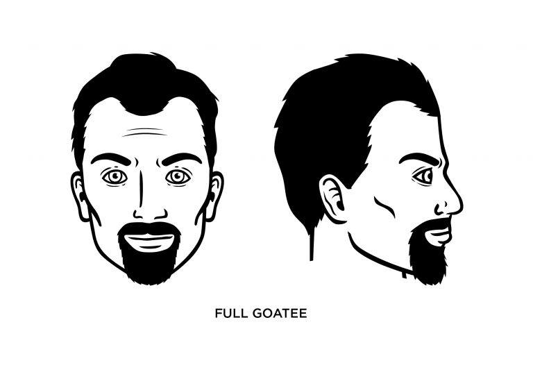 The Full Goatee - Men's Haircuts