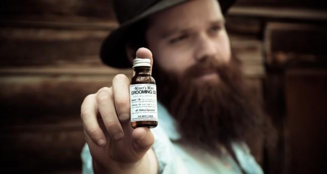 Oil your beard