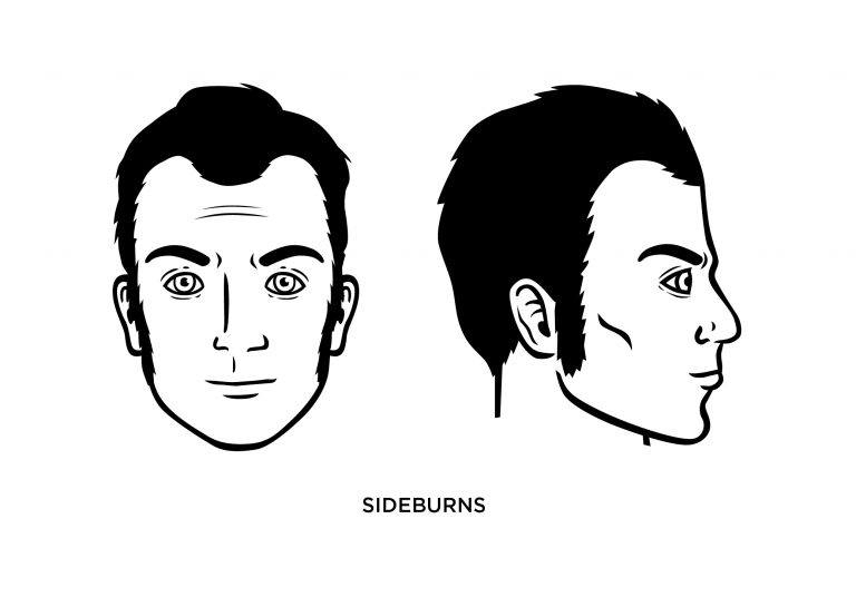 The Sideburns - Men's Haircuts