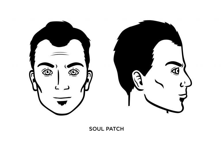 The Soul Patch - Men's Haircuts