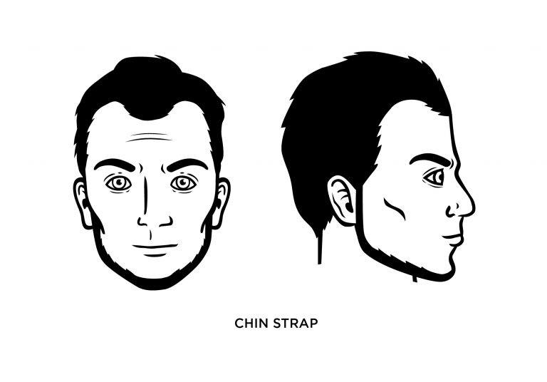 The Chinstrap - Men's Haircuts