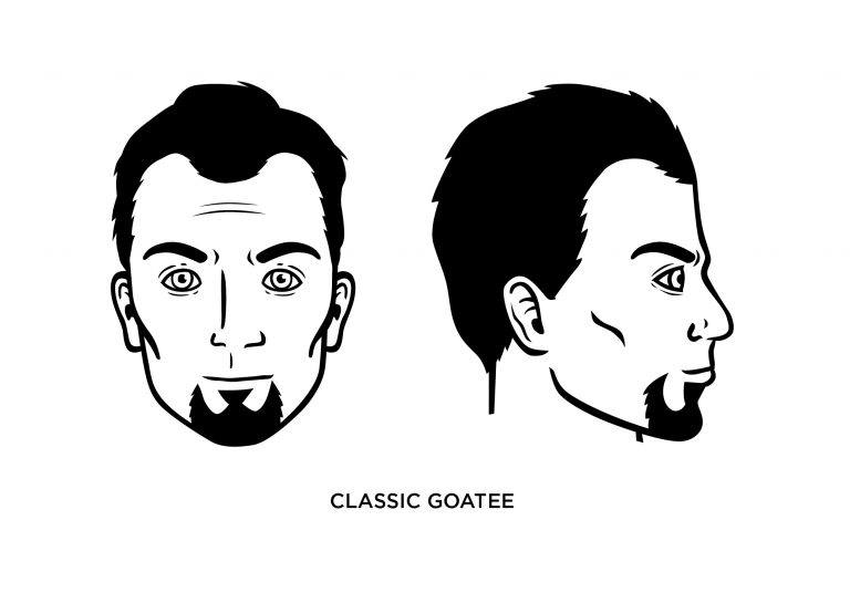 The Classic Goatee - Men's Haircuts