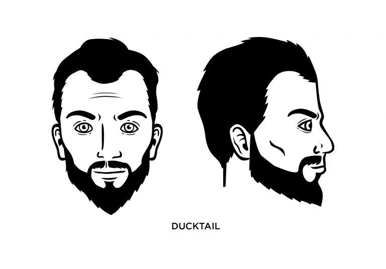 The Ducktail - Men's Haircuts
