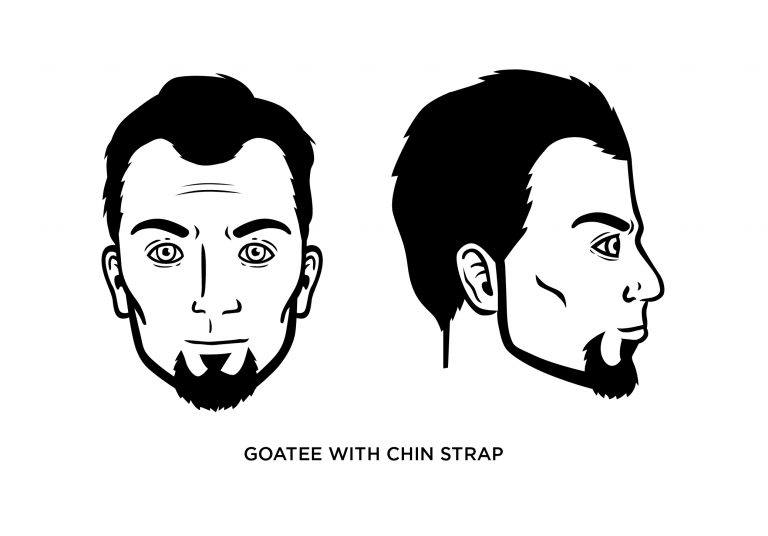Goatee + Chin Strap - Men's Haircuts