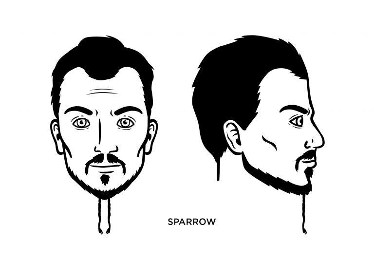 The Sparrow - Men's Haircuts