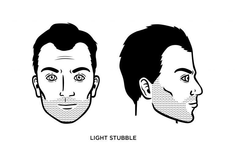 The Light Stubble - Men's Haircuts