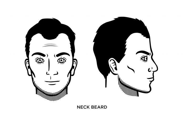 The Neck Beard - Men's Haircuts