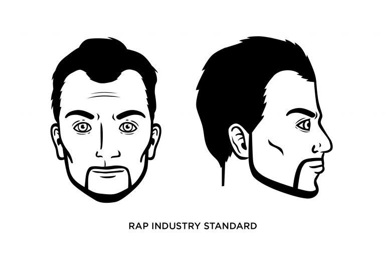 The Rap Industry Standard - Men's Haircuts