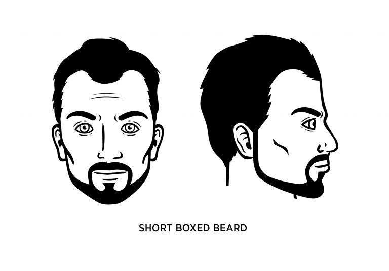 The Short Boxed Beard - Men's Haircuts