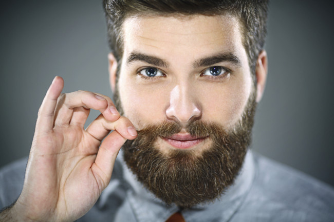 Have a routine for your beard