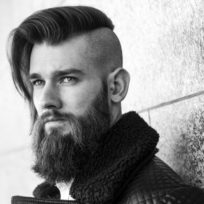 Undercut Comb Over - men's haircuts