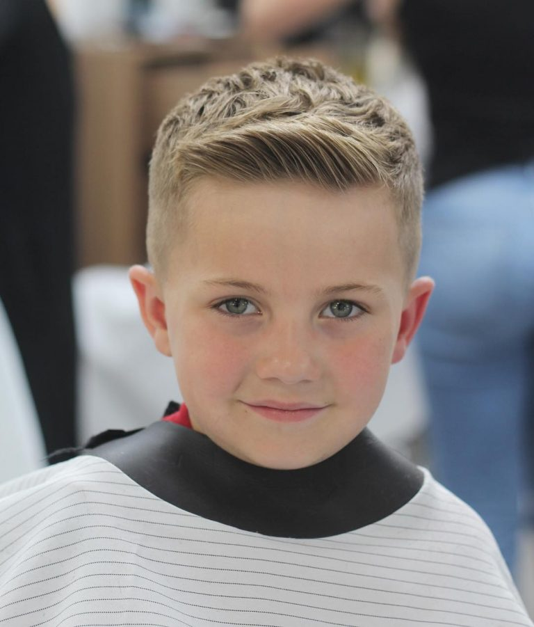 Crew cut Hairstyle for boys - Men's Haircuts