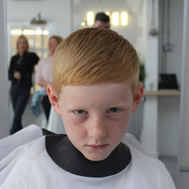 Textured Crew cut - New Hairstyle for Boys