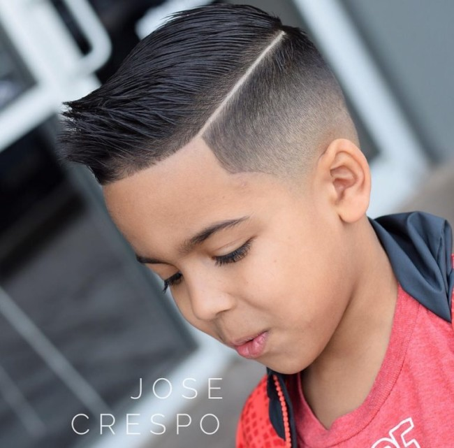Hard part + Fade for boys - Men's Haircuts