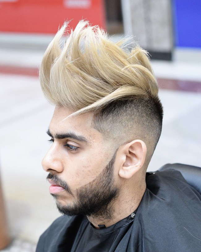 Long Textured Quiff - Men's haircuts