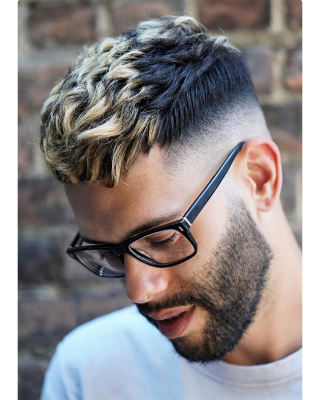 Textured Crop + Skin fade - Men's haircuts