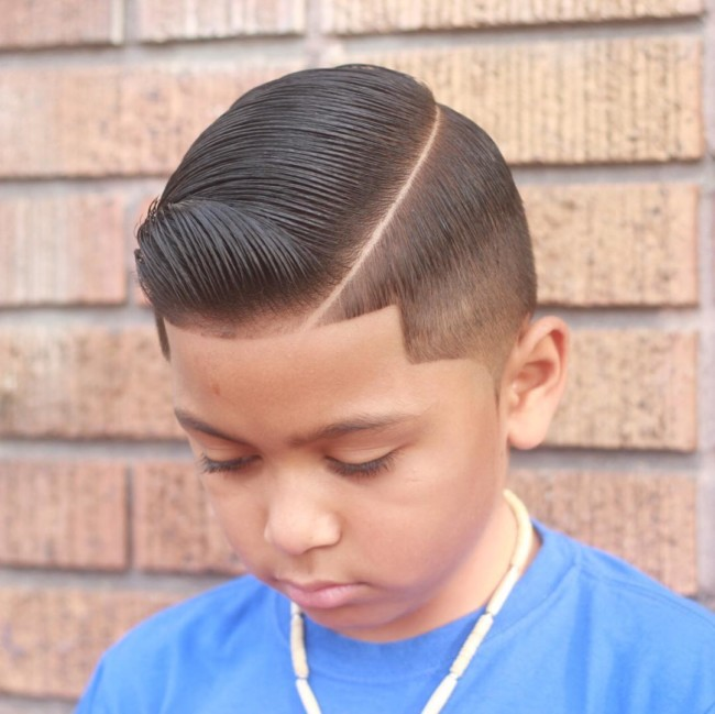 Comb Over Haircut for boys - Men's Haircuts