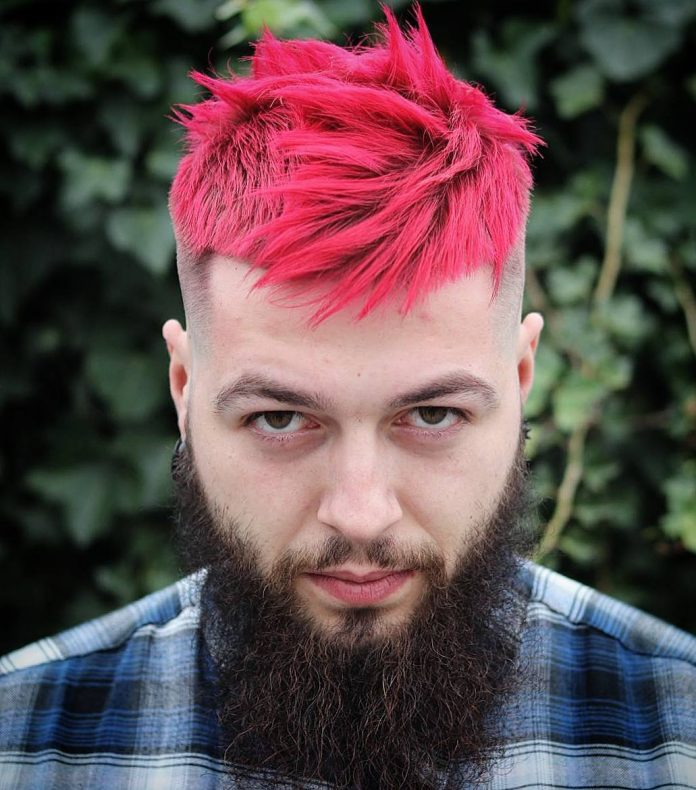 35 Amazing Hair Color for Men