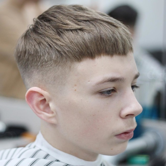 Textured French Crop - New Hairstyle for Boys