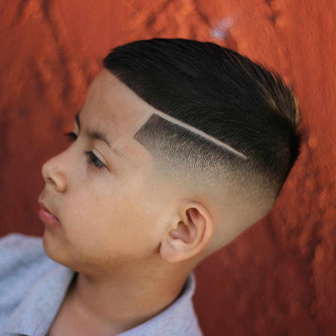 Crop + Hard Part + Skin Fade - New Hairstyle for Boys