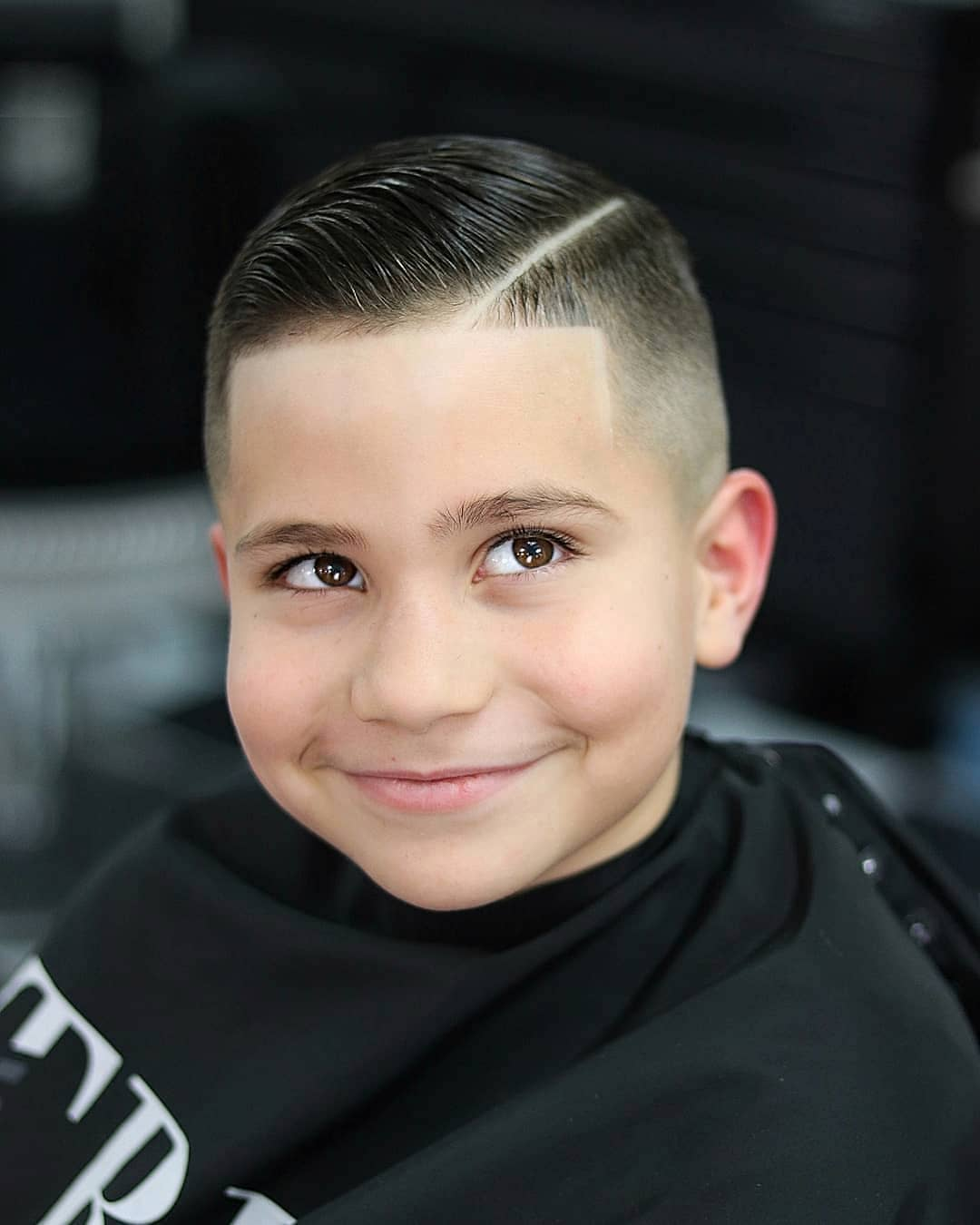 Comb Over + Hard Part - New Hairstyle for Boys