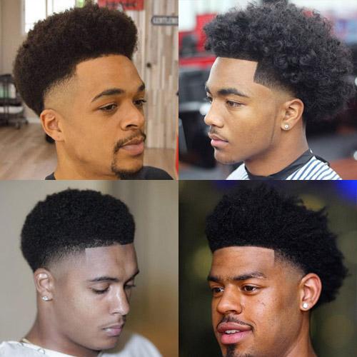 Afro fade - men's haircuts