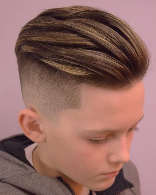 Undercut for boys - Men's Haircuts