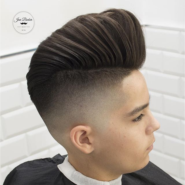 Pompadour for boys - Men's Haircuts