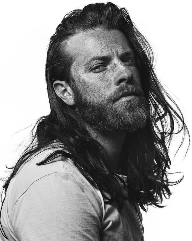 Long hair + Full beard - men's Haircuts