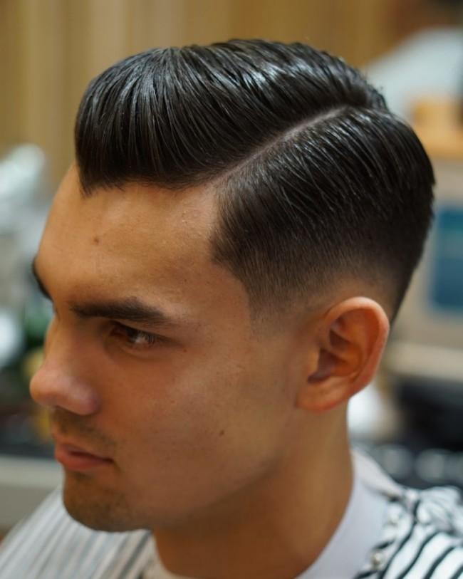 Side Part Pompadour - Men's Haircuts