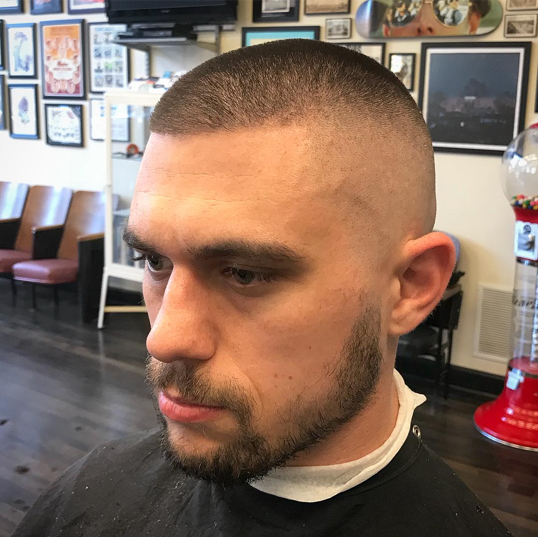 Buzz Cut + High Bald fade - Men's Haircuts
