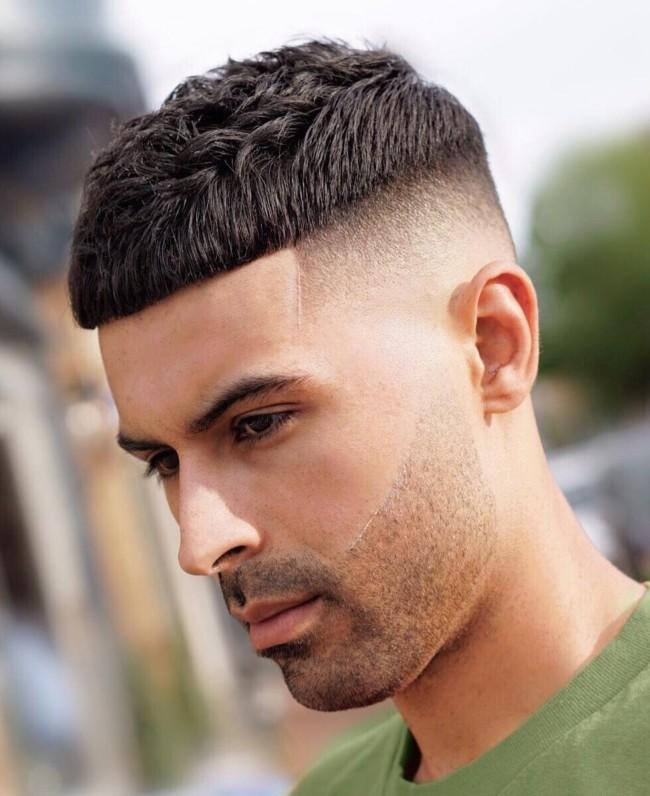 Crop + High Skin Fade - Men's Haircuts