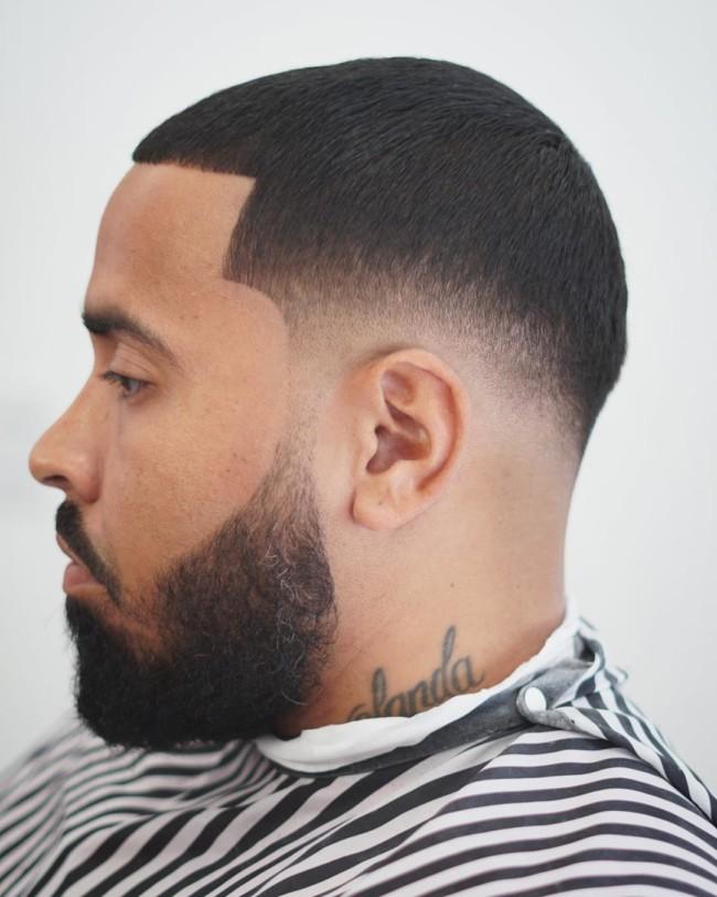 Buzz Cut + Drop Fade - Men's Haircuts