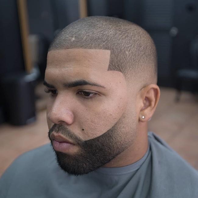Buzz Cut + Line up - Men's Haircuts