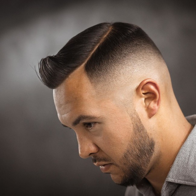 76. Side part Comb Over + High fade - Men's Haircuts