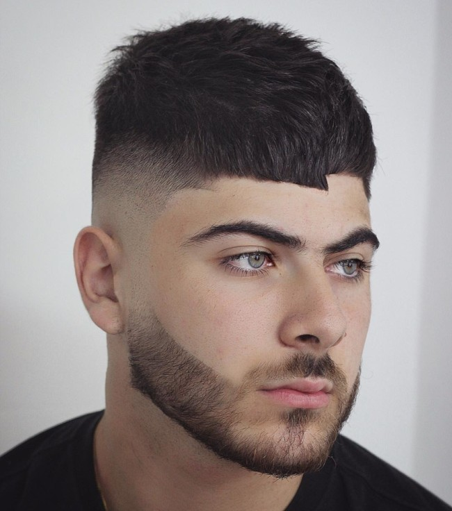 Crop + High fade - Men's Haircuts