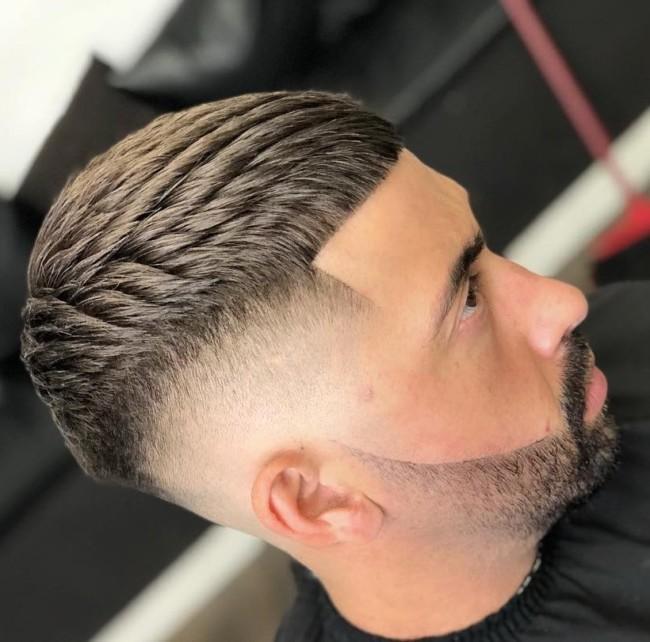 Textured Crop + High Fade - Men's Haircuts