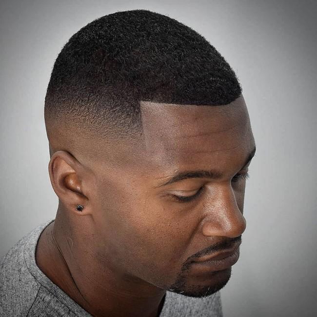 Crew cut + Mid Skin Fade - Men's Haircuts