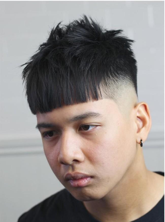 Crop + Burst Fade- Men's Haircuts