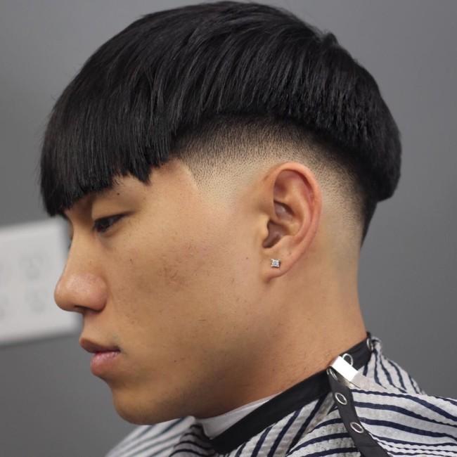 Bowl Cut + Low Fade - Men's Haircuts
