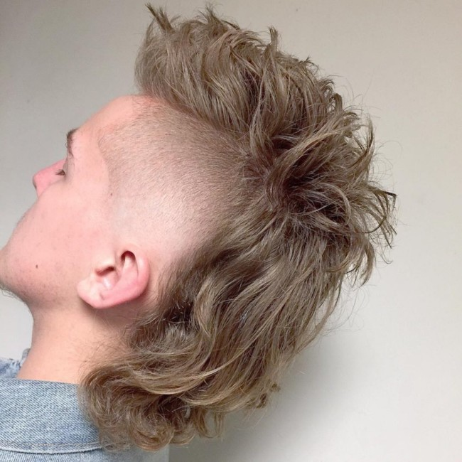 Mohawk mullet - Men's Haircuts