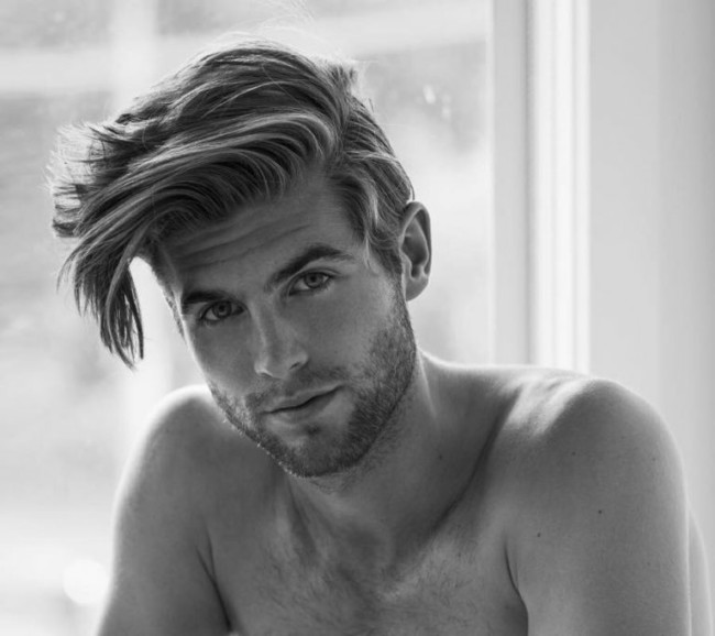 Side Part + Messy Bedhead - Men's Haircuts