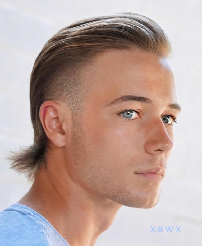 Slicked backHockey Hair - Men's Haircuts